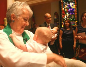 Baptism at St. George's