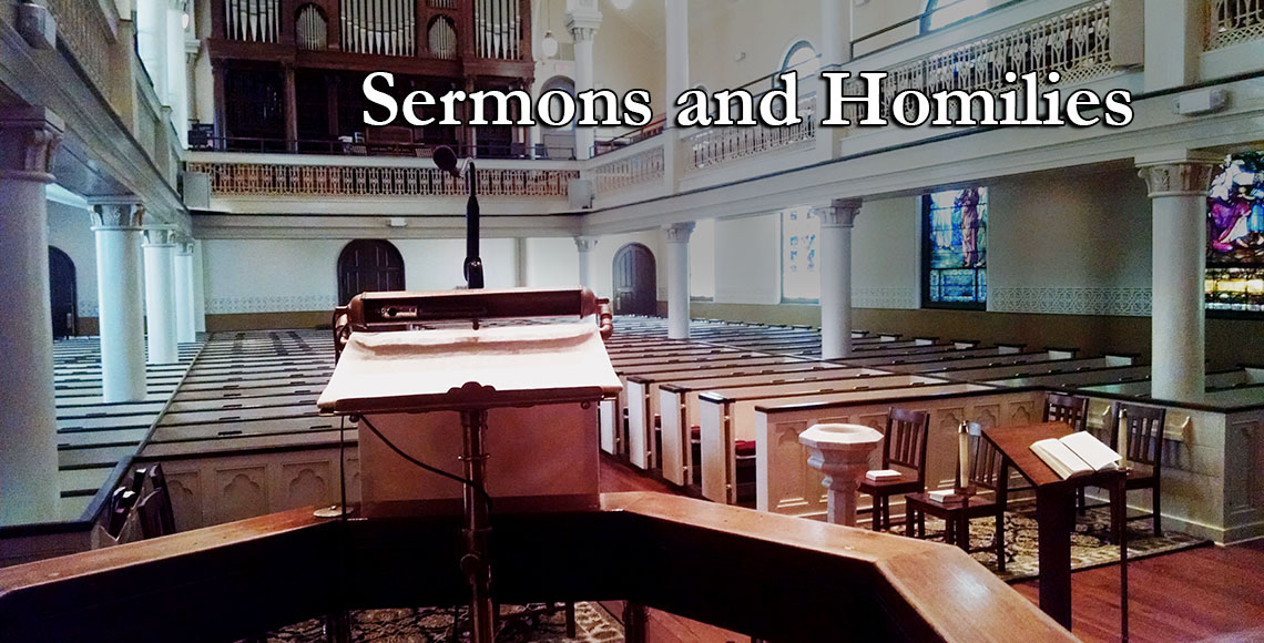 Sermons and Homilies