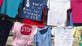 EmpowerHouse and the Clothesline Project