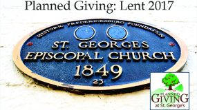 Planned Giving in Lent: The Wrap-Up