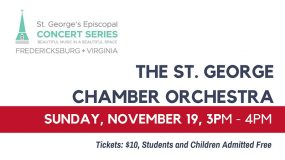Chamber Concert: St. George's Chamber Orchestra, Nov. 19