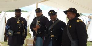 St. George's featured in Black History Month living history event