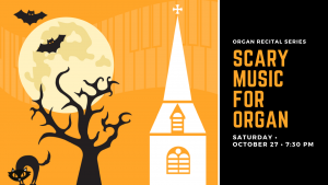 Scary Music for Organ Returns to St  George's - St  George's